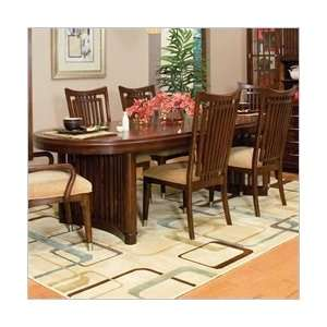 Standard Pacific Rim Double Pedestal Formal Dining Table