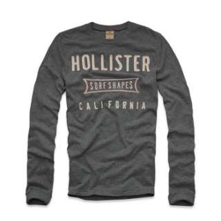 LOT OF 20 NEW HOLLISTER by Abercrombie MENS LONG SLEEVE T SHIRTS