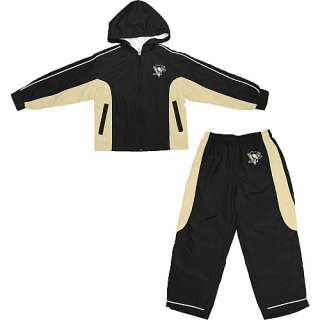 Pittsburgh Penguins Toddler Full Zip Track Jacket and Pants Set sz 2T