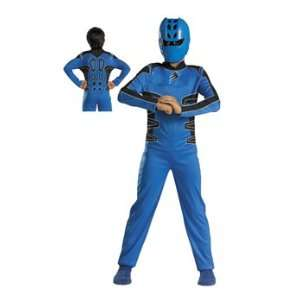 Jungle Fury (tm) Blue Power Ranger Quality Child: Toys