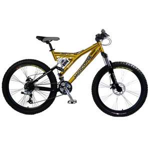 26 Mens Mongoose XR Comp Dual Suspension Bike