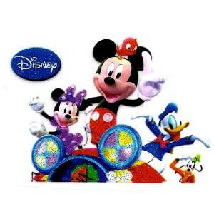 Mickey Mouse Clubhouse Mousekadoer Minnie Donald Goofy Disney Iron On