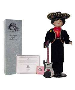 Collectible 22 inch Mariachi Porcelain Doll