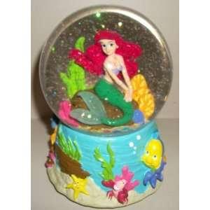 Disneys The Little Mermaid Ariel 6 Musical Snow Globe