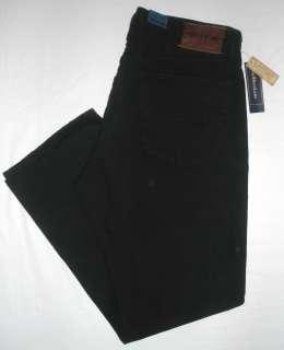 NWT Mens POLO Ralph Lauren Classic 867 Black Wash 100% Cotton Denim