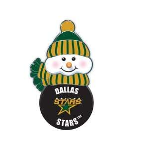 BSS   Dallas Stars NHL All Star Light Up Acrylic Snowman