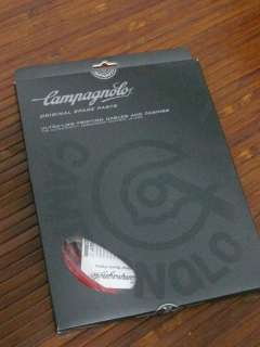 Campagnolo Housing and Cable Set KIt White/ Black/Red