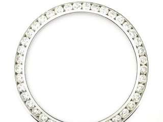3CT CHANNEL SET DIAMOND BEZEL MADE FOR MENS ROLEX WATCH