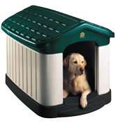 OurPets Tuff n Rugged Large Insulated Dog House + Door