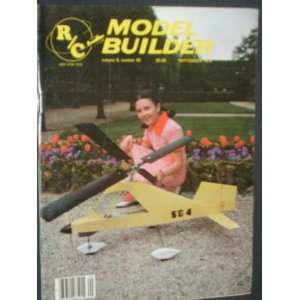 RC Model Builder Magazine (September, 1979) staff Books