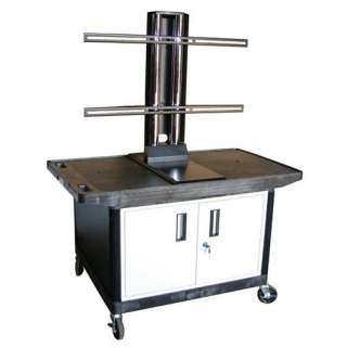 Luxor Mobile Plasma / LCD Stand with Cabinet (27 High