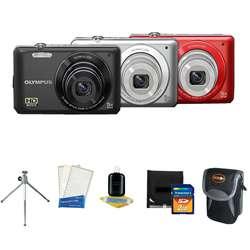 Olympus VG 120 14MP Digital Camera with Deluxe Bonus kit