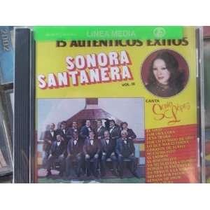 15 Autenticos Exitos Cd La Sonora Santanera canta Sonia Lopez Music