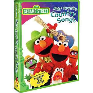Sesame Street Kids Favorite Country Songs (Full Frame) Movies