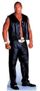 WWE THE ROCK LIFESIZE CARDBOARD CUTOUT STANDUP FIGURE