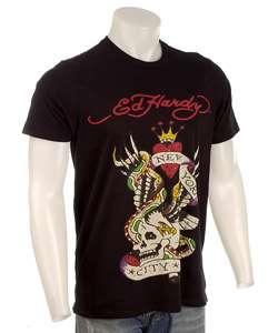 Ed Hardy Mens New York City Short sleeve Shirt