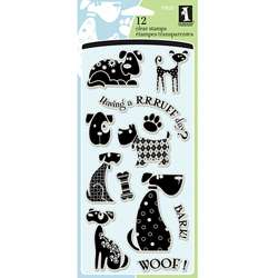 Inkadinkado Dogs Clear Stamps