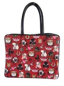 Fluff Retro Laptop Case Bag NWT Cute Kitschy Designs Girly Mod