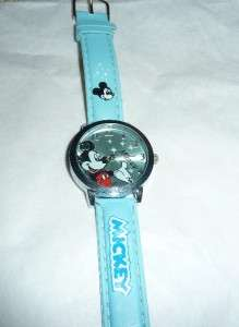 Mickey Mouse Kids Watches   Pink, Blue, Black & White   Iridescent