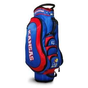 Kansas Jayhawk Medalist Golf Cart Bag by Team Golf
