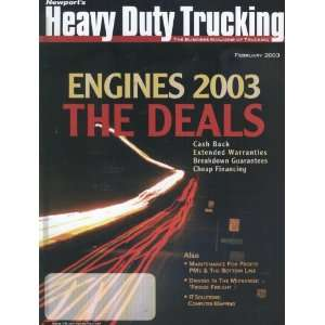 Heavy Duty Trucking the Business Magazine of Trucking, February 2003