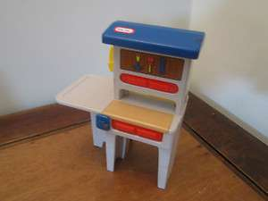 Little Tikes Dollhouse Size Doll Toolbench Workbench Tool Work Bench 5