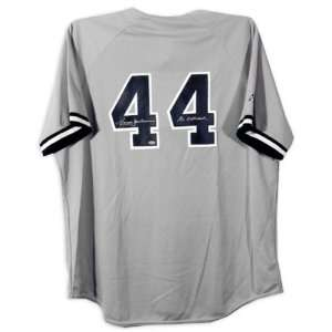 Reggie Jackson New York Yankees Autographed Jersey with Mr. October