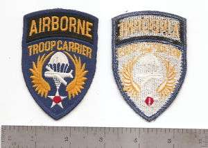 176 US ARMY AIRBORNE TROOP CARRIER PATCH