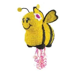 Bee 20 Pull String Pinata Party Supplies: Toys & Games