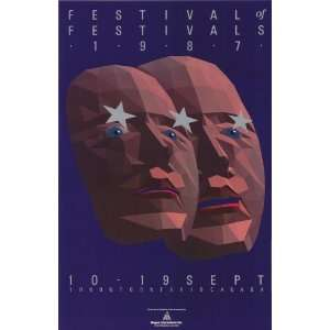 Film Festival Movie Poster (11 x 17 Inches   28cm x 44cm) (1987) Style