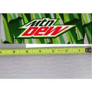Dew LOGO Soda Vending Machine Flavor Strip, Label Card, Not a Sticker