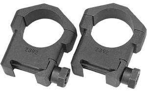 Badger Ordnance 30mm High Steel Scope Rings Picatinny Black