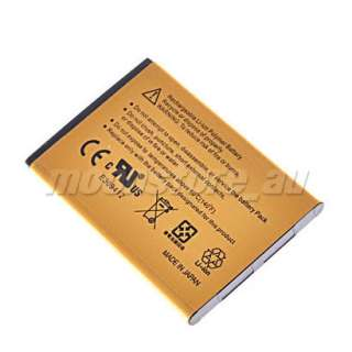 GOLD 2430MAH HIGH CAPACITY REPLACEMENT BATTERY FOR HTC DESIRE S 2 G12