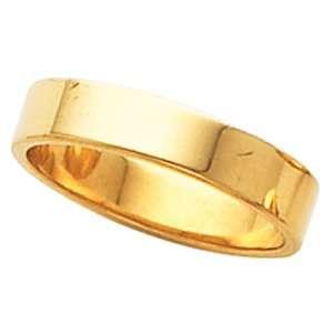 Genuine IceCarats Designer Jewelry Gift 10K Yellow Gold Wedding Band