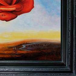 Salvador Dali The Meditative Rose Canvas Art