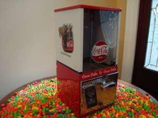 Toy N Joy *COCA COLA* Gumball & Candy Vending Machine Coke Soda