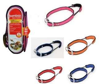 Bamboo Quick Control Dog Collar w/Quick Control Handle 859328100257