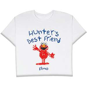 Childs Best Friends Elmo T shirt, Size 3T Personalized Gifts
