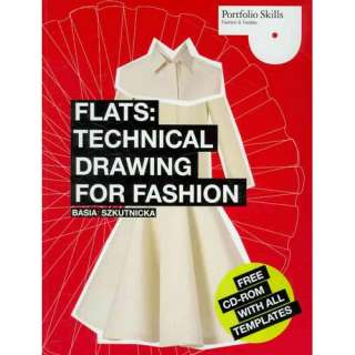 Flats Technical Drawing for Fashion [With CDROM