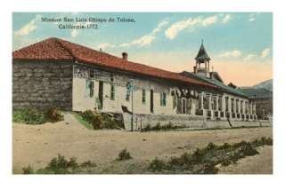 San Luis Obispo de Tolosa Mission, California Photo at AllPosters