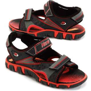 Nerf   Toddler Boys Lava Velcro Sandals Shoes