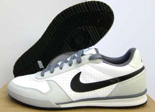 NEW MENS NIKE FIELD TRAINER [443918 101] WHITE BLK GREY