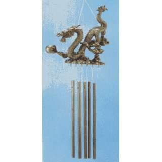 Lawn Ornaments Outdoor Wind Chimes Dragon Wind Chime