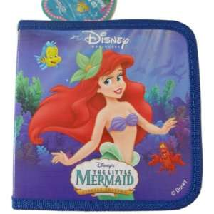 24 CD / DVD CASE DISNEY Little Mermaid RED Toys & Games