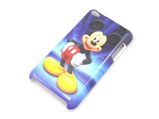 Cute Mickey Mouse Hard Shell Case Cover for ipod touch 4th 4