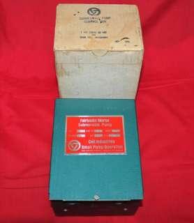 COLT Industries / Fairbanks Morse Pump Control Box