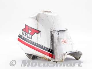 84 Yamaha XT250 XT 250 L XT250L Gas Fuel Petrol Tank   30X 24110 G0 07