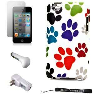 Color Dog Paws Design Cover / 2 Piece Snap On Case for New