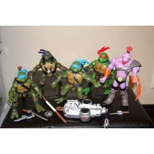 TMNT Teenage Mutant Ninja Turtle Action figures and