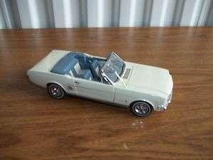Danbury Mint 66 Ford Mustang Convertible Car LOOK